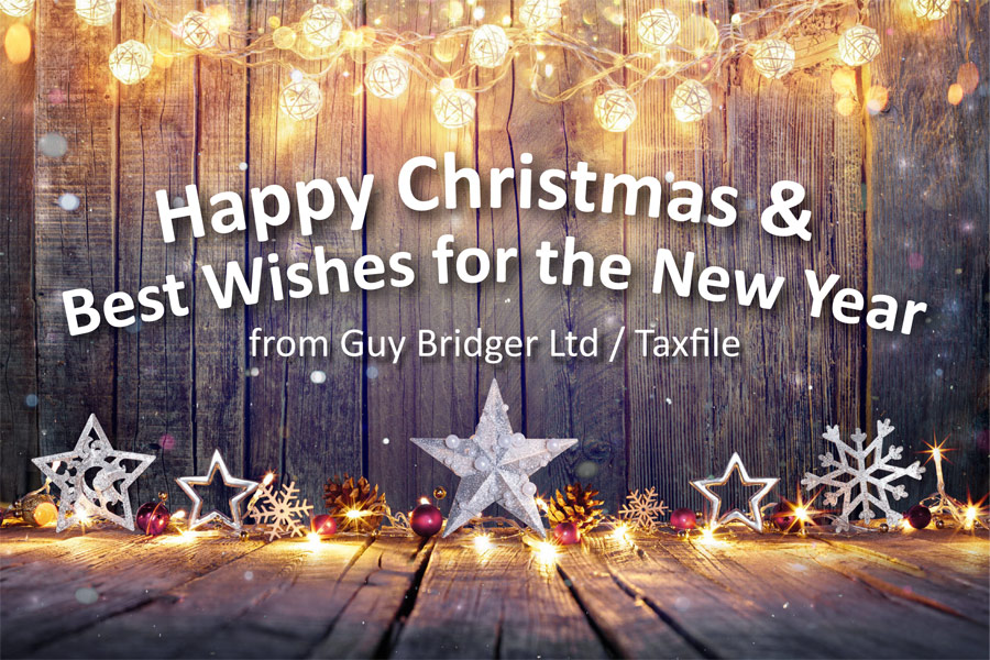 Happy Christmas from Guy Bridger